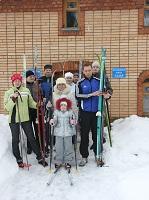 В спортивном мероприятии приняли участие и члены молодежного приходского центра «Ладья» при Богородицерождественском храме на Возмище г. Волоколамска и некоторые маленькие прихожане храма