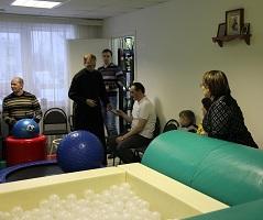 Встреча в Волоколамском клубе инвалидов «Олимп»(2013г.)
